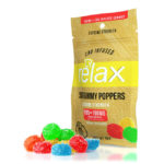 Relax Gummy Sour Poppers