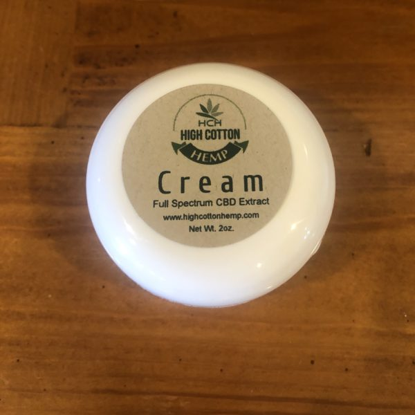 High Cotton Hemp Cream - Full Spectrum
